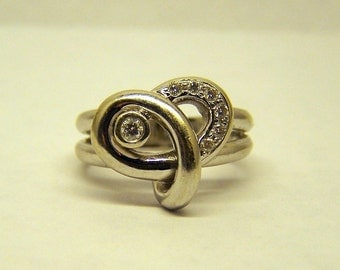FORTUNOFF 14k White Gold 1/2 ctw Diamond Ring