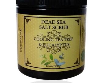 BODY SCRUB- Salt Scrub- Organic Sugar Scrub- Dead Sea Salt Scrub- Lavender Scrub- Gifts for Her-Gifts for mom- Gifts for him- Birthday Gift