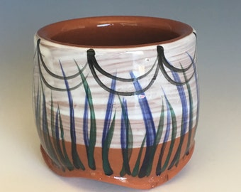 Ceramic Wine/Juice Cup - earthenware pottery