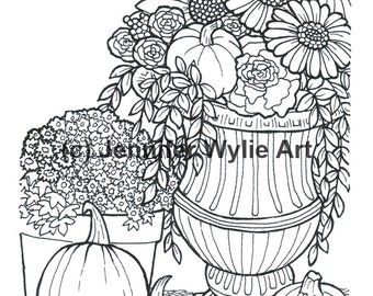 90 page Adult coloring book Coloring Book Printable Adult