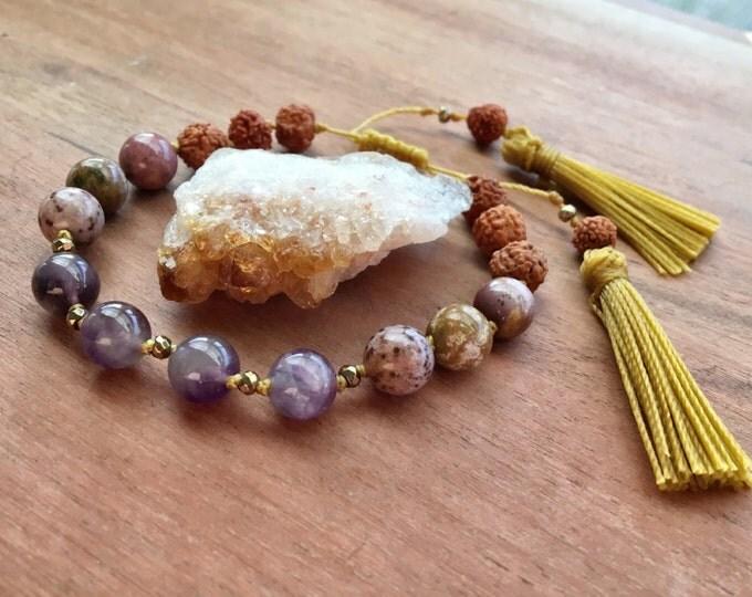 Golden Goddess Tassel Bracelet