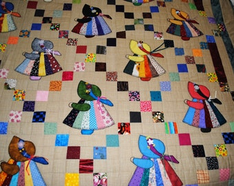 Machine Pieced and Applique