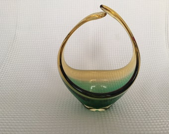 Vintage 1970's glass bowl