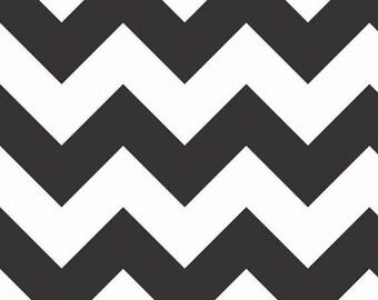 Half Yard - Riley Blake - Chevron - Black and White