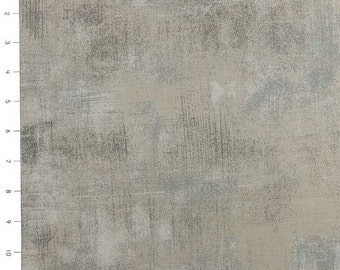 Moda Fabric - Basicgrey - Grunge - Grey Couture - 30150 163 - Cotton fabric by the yard