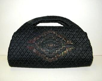 Vintage Handmade Yarn Purse