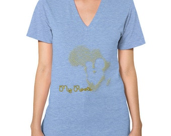 My Roots V-Neck Women's