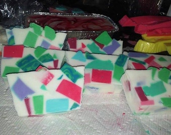 Party Bars ! Sampler Pack Goats milk Soaps.