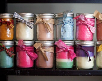 Bee's wax Soy wax Blend Candles !
