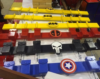 Superhero Coat Rack \ Hanger