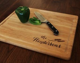 Personalized Cutting Board- handmade