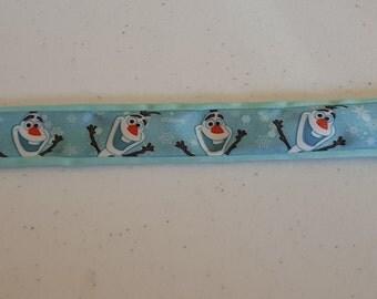 Olaf  slap bracelet