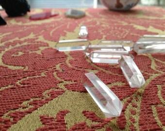 Double Terminated Natural Quartz Crystal