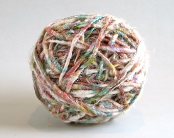 Banana Plant Fiber / Fairtrade Fiber /  Natural Art Fiber / Rustic Fiber / Fairtrade Silk Fiber / Knitting / Crochet / Yarn for Weaving