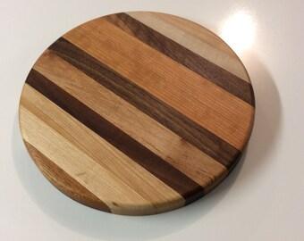 Cutting serving board circle. #06