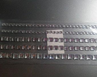 Adhesive Pearls, Adhesive Rhinestones and Flat Pearls