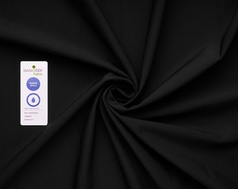Arctic soft shell 3-layer fabric (black) - 0, 5 m