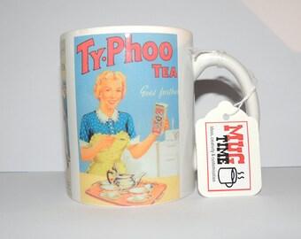 Tea Old Ads Vintage Mug - 11oz Ceramic Coffee Cup Mug