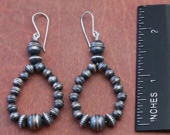 Sterling Silver bead Earring EA-SB-13