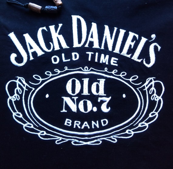 Jack daniels old time machine embroidery design instant