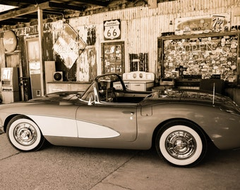 Aluminum Print Wall Art - Corvette