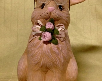 Ceramic Bunny with Glasses