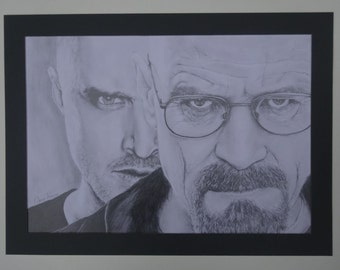 Custom pencil drawing size A3
