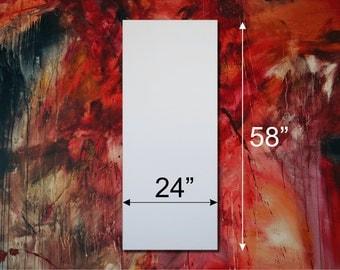 "Gallery Blank Stretched Art Canvas 58""x24"" (4'10""x2') 1.5"" Depth"