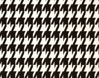 large houndstooth fabric by the yard premier prints black white fabric yardage home decor fabric 54
