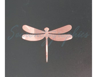 Rose Gold Dragonfly