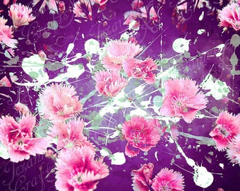 Flowers in Bloom Graphic Print