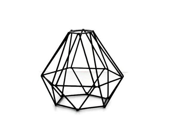 metal lamp shade industrial lighting metal cage by