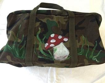 Toadstool handle bag