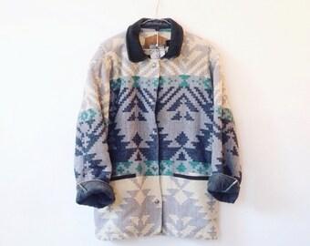 Vintage woolrich navajo jacket M/L