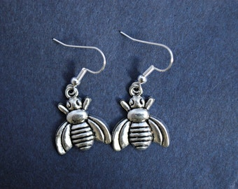 Bee Earrings, Bee Jewellery, Bee Jewelry, Bee accessories, Bee lovers, gifts for her