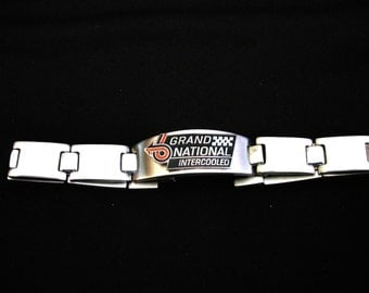 Buick Grand National Stainless Steel Bracelet