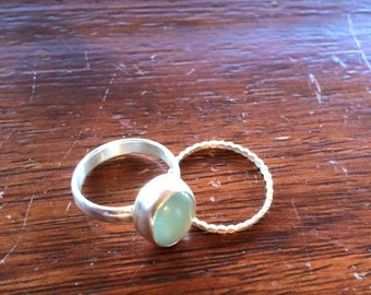 beautiful sterling silver stacking rings,