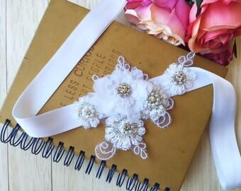Bridal Sash, Flower Sash, Bridal Belts, Bridal Accessories, Wedding Belts, Wedding Sash, Sashes and Belts, Vintage wedding, Wedding