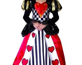 Queen of hearts costume queen of hearts toddler queen girl of hearts costume Teeny girls Halloween girls Costume kids Halloween Costume