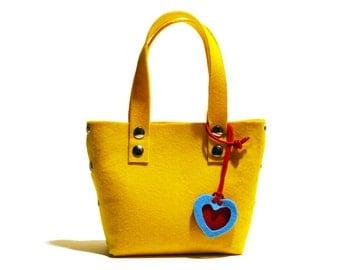 Little Shopping Bag  Yellow