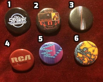 The Strokes buttons