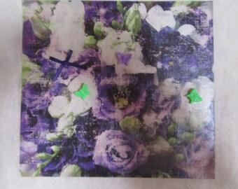 Lilac flowers bag