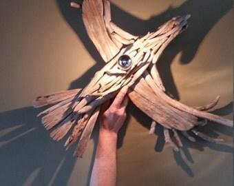 """Lamp wall """"royal Eagle"""" Driftwood"""