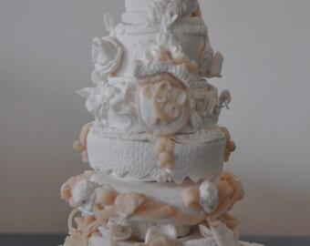 Miniatur Royal Hochzeitstorte William & Kate