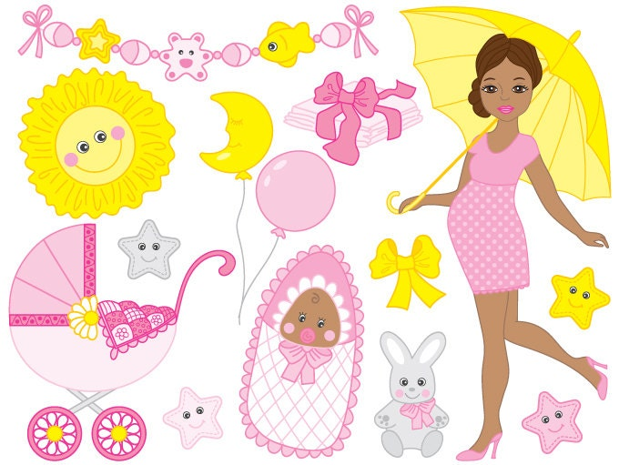 african american baby girl clipart free - photo #13