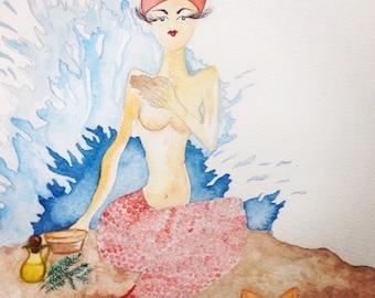The water element Mermaid