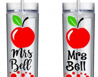 Teacher Tumbler, Teacher Gift, Teacher Appreciation Gift, Personalized Teacher Gift, Gifts for Teachers, Gift, Teacher Cups, Teacher