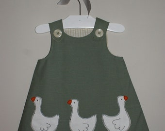 Doris Duck Pinafore