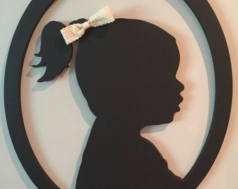 Wood Silhouette - Child Silhouette Cut Out