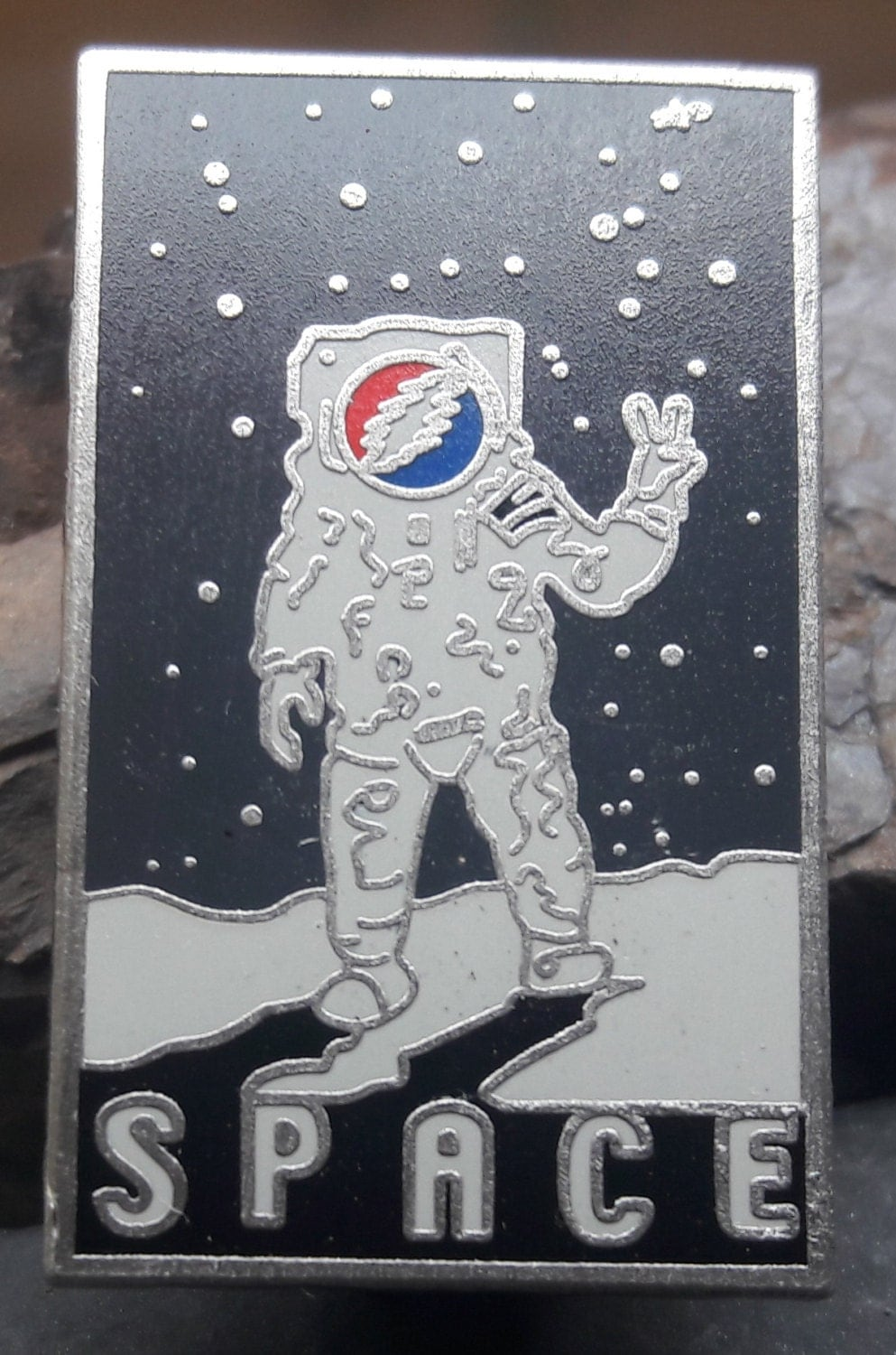 Grateful Dead Space Pin Space Astronaut Pin Outer-Space hat